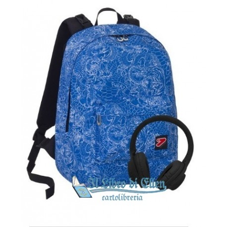 sale online where can i buy purchase cheap zaino seven the double whilz blue deep con cuffie stereo