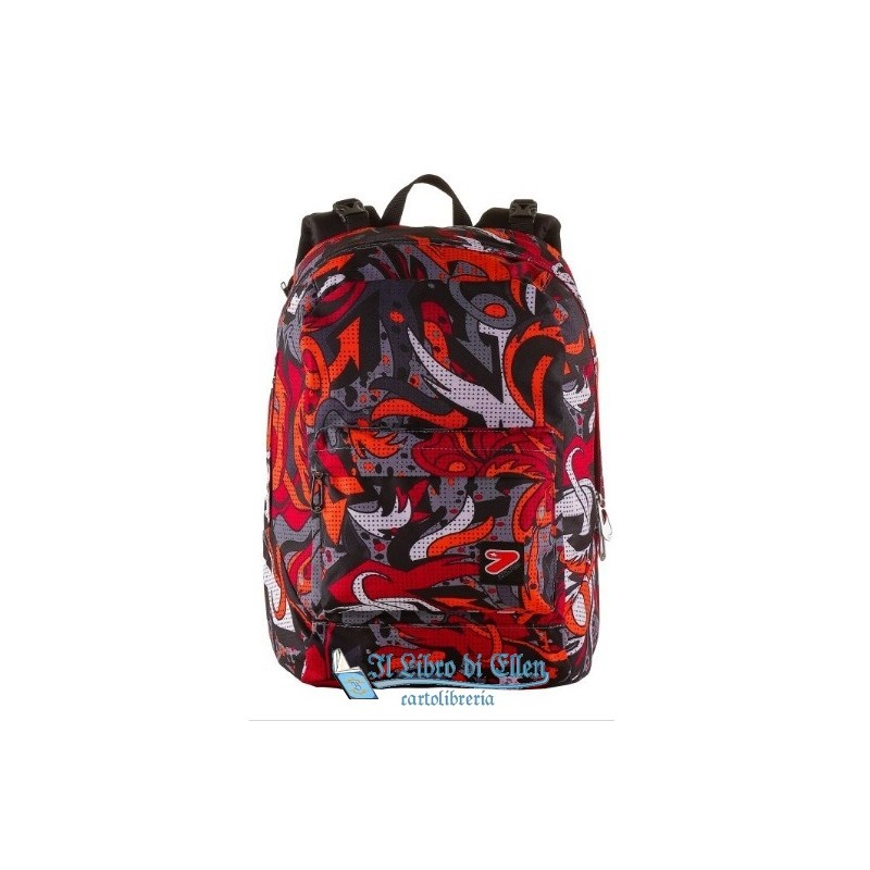 a34c4a1c82 ... ZAINO SEVEN THE DOUBLE FLAME FIESTA RED CUFFIE STEREO SOFT TOUCH 2  ZAINI IN 1 REVERSIBILE ...